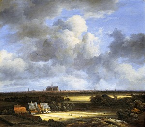 View of Haarlem with Bleaching Grounds van Ruisdael