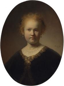 RembrandtPortraitOfAGirlWearingAGoldTrimmedCloakGettyImage