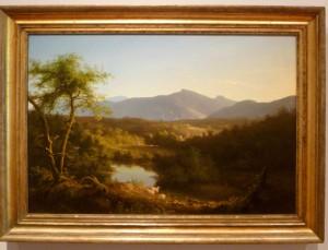 ThomasColeViewNearTheVillageOfCatskilloil on wood, 1827, 24 ½ x 35